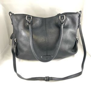 Cole Haan pebbled leather crossbody large size